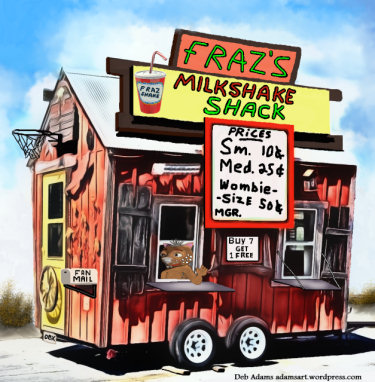Fraz's Milkshake Shack by Debbie Adams