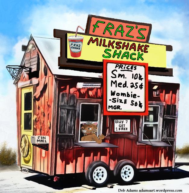 Fraz's Milkshake Shack by Debbie Adams