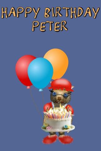 Happy Birthday 2014 by Debbie Adams