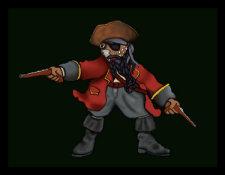 Pirate Fraz by Debbie Adams