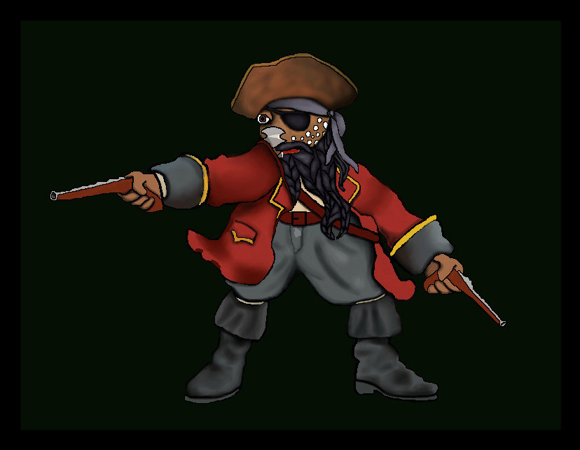 Pirate Fraz by Debbie Adams
