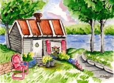 Twink's Beach House by Debbie Adams