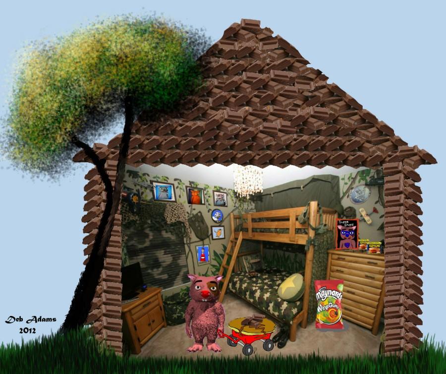 Winky's Chocolate Cabin by Debbie Adams