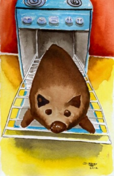 Wombat Day Cake by Debbie Adams