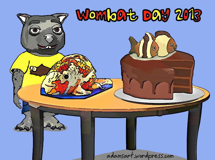 Wombat Day 2013 by Debbie Adams