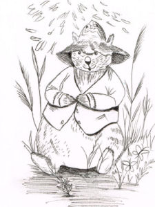 Wombat Wilbur by Debbie Adams