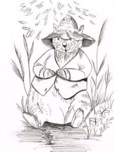 Wombat Wilbur by Debbie Adams