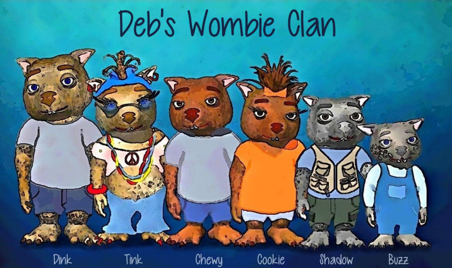 Deb's Wombie Clan by Debbie Adams