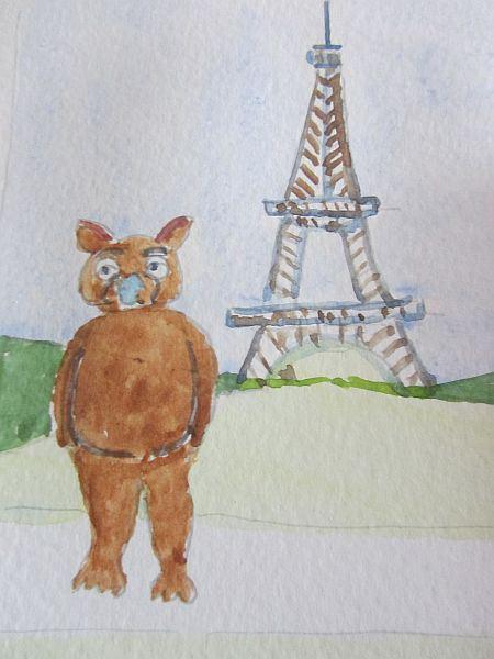 Fraz in Paris by Doron