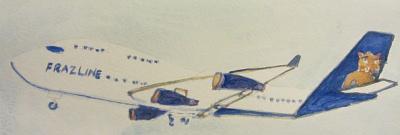 The Frazline Jumbo Jet by Doron