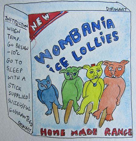 Wombania Ice Lollies by Doron