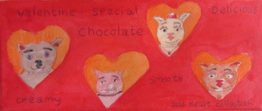 Wombie Valentine by Doron