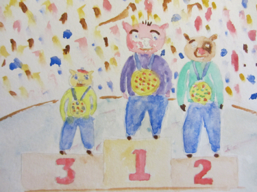 Wombie Olympic Medals by Doron