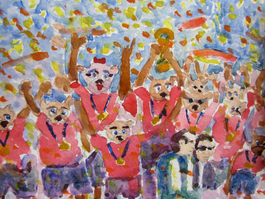 World Cup Champions 2014 by Doron