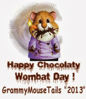 Chocolatey Wombat Day by Faythe