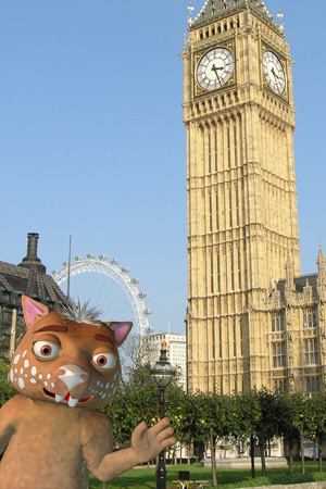 Fraz with Big Ben