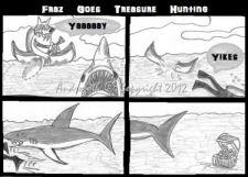 Fraz Goes Treasure Hunting by Androgoth