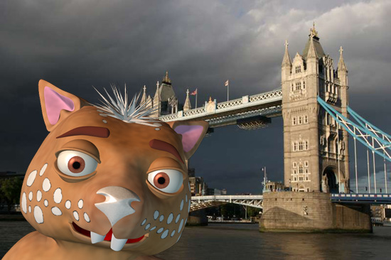 Fraz and the London Bridge