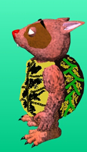 Turtle Wombie by Novroz