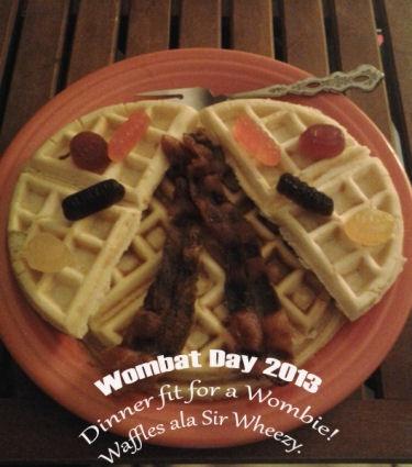 Wombat Day Dinner by Rachel