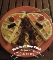 Wombat Day Dinner by Rachel