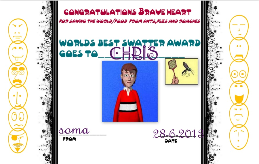 The Swatter Award by Soma