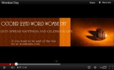 Wombat Day Video by Soma Mukherjee