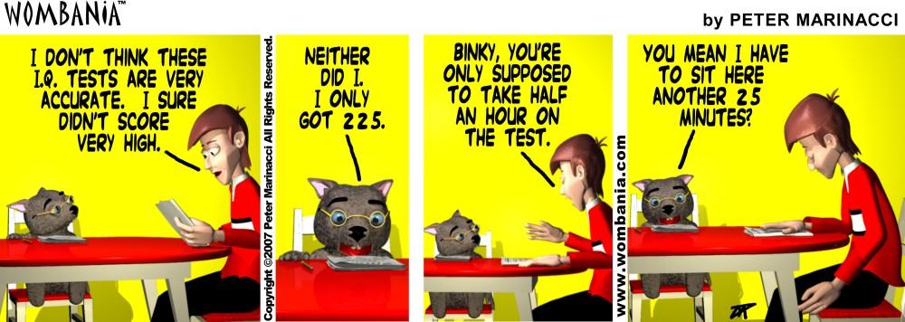 Binky IQ
