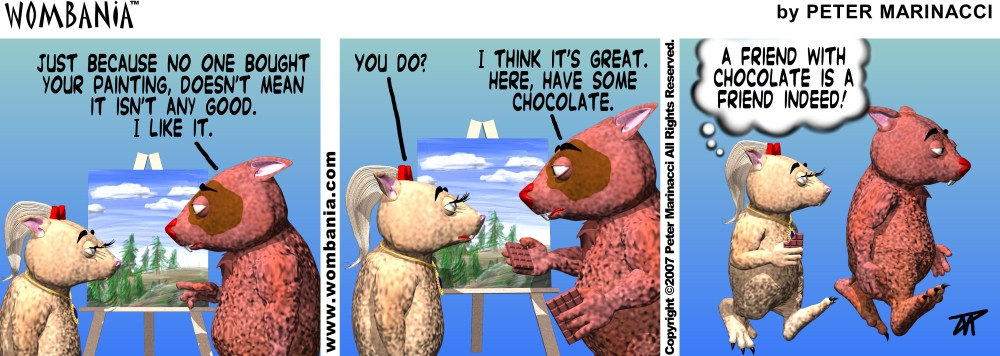 Chocolate Friends