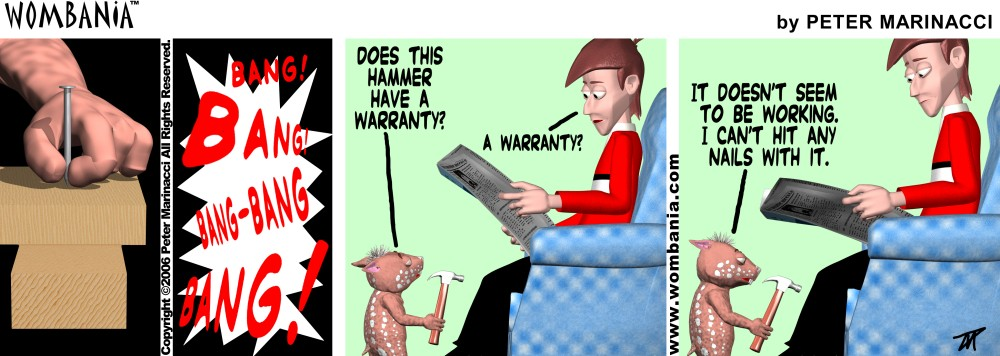 Bad Hammer Warranty