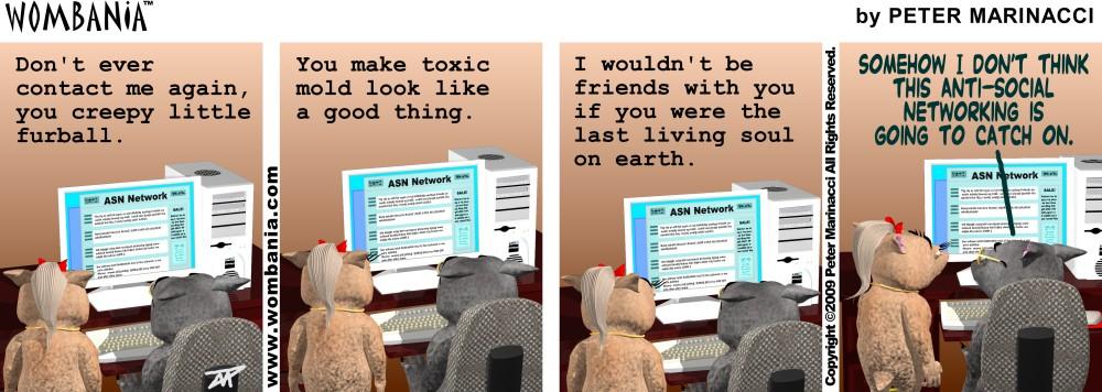 Anti-Social Networking