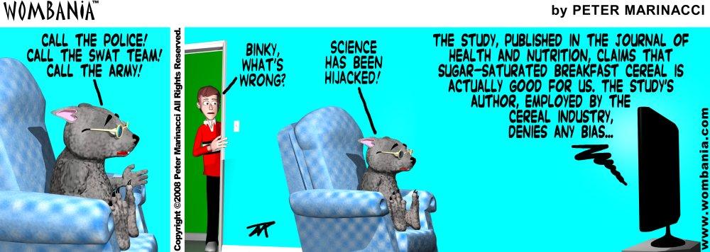 Hijacked Science