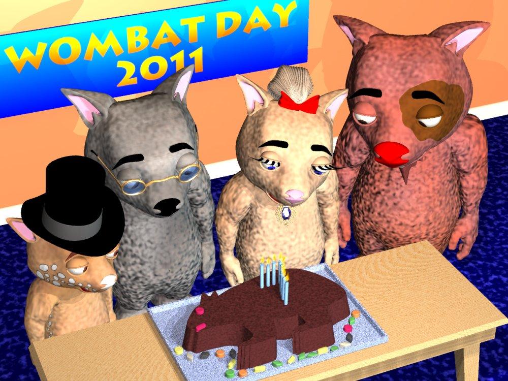 Wombat Day 2011