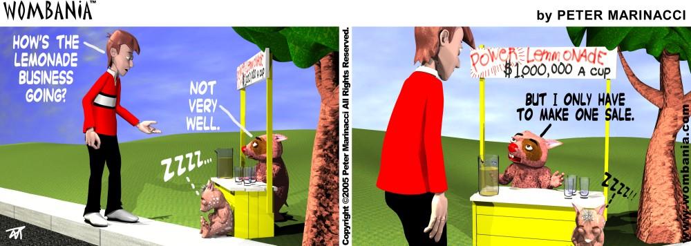 Power Lemonade Stand