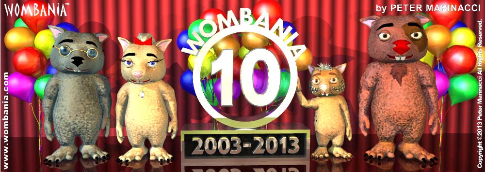 Wombania's 10th Anniversary