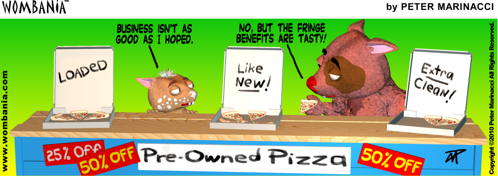 Pre-Owned Pizza