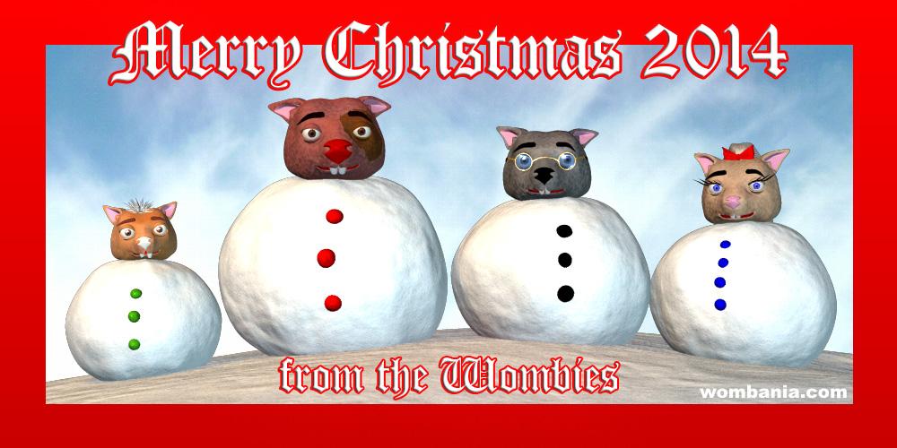 Wombie Christmas 2014