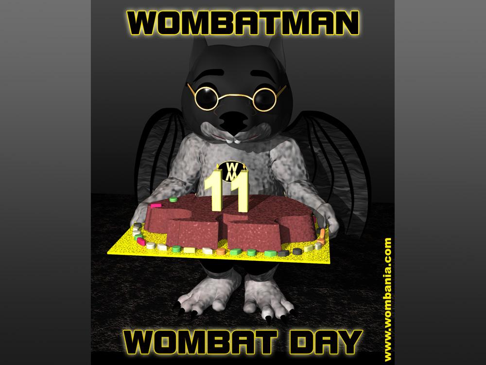 Wombat Day with Wombatman