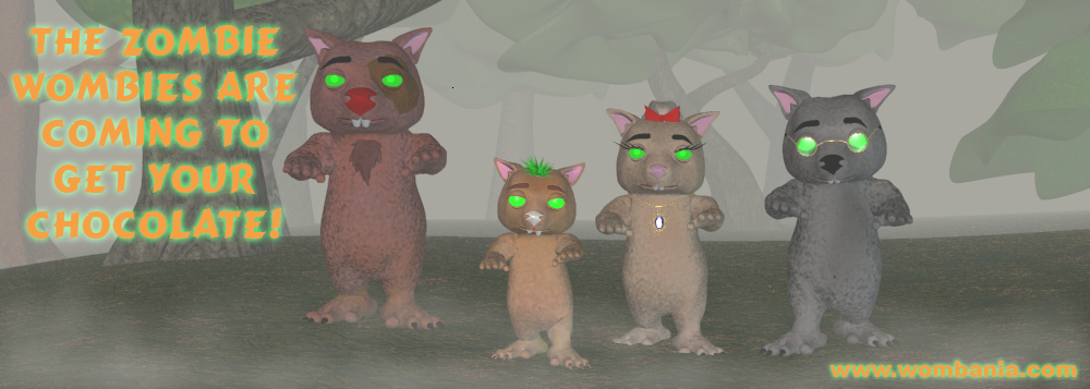Wombie Zombie Halloween 2020