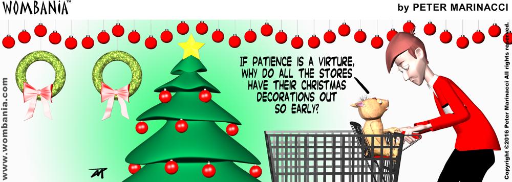 Christmas Patience